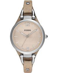 Fossil - Ladies Ivory Dial Watch Es2830 - Lyst