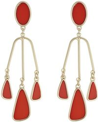 J By Jasper Conran - Designer Droplet Chandelier Earrings - Lyst