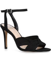 3a96c4cd76c Black 'jenika' Stiletto Heel Sandals