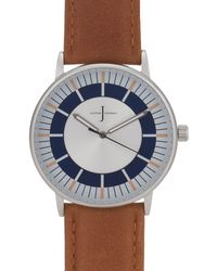 J By Jasper Conran - Womens' Brown Analogue Watch - Lyst