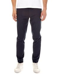 Burton - Blue Tapered Fit Stretch Trousers - Lyst