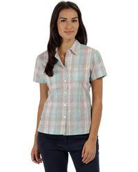 Regatta - Green 'jenna' Short Sleeved Shirt - Lyst