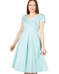 c4d80c64b7ba4 Studio 8 Marlin Dress in Blue - Lyst