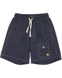 Raging Bull - Navy Plain Board Shorts - Lyst