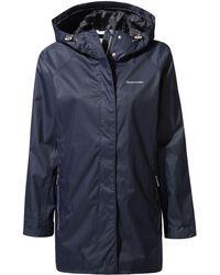 Craghoppers - Blue 'madigan' Classic Waterproof Jacket - Lyst