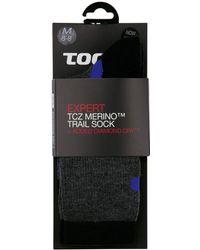 Tog 24 - Black Anthracite Sky North Point Merino, Diamond Dry Socks - Lyst