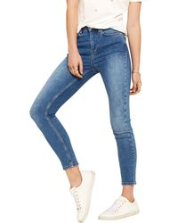 d3a79368ef14 Oasis - Light Wash Pale Wash 'lily' Skinny Jeans - Lyst