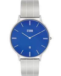 Storm - Men's Silver 'xoreno' Bracelet Watch - Lyst
