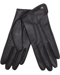 J By Jasper Conran - Black 3 Point Leather Glove - Lyst