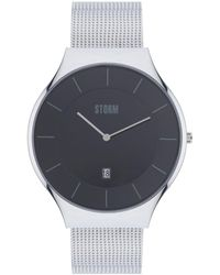 Storm - Gents Black Reese Xl Mesh Strap Watch Reese Xl Black - Lyst