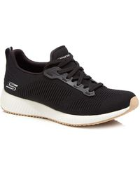 Skechers - Black 'photo Frame' Trainers - Lyst