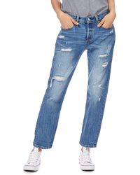 0ae949fd7b2 Levi's - Blue '501' Tapered Leg Jeans - Lyst