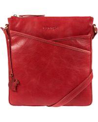 Conkca London - Scarlet 'avril' Handcrafted Leather Crossbody Handbag - Lyst
