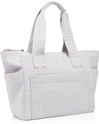 Red Herring - Light Grey Spot Print Nylon Shopper Bag - Lyst