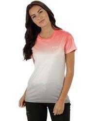 Regatta - Orange 'fingal' Print T-shirt - Lyst