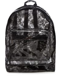 Mi-Pac - Black Transparent Lace Backpack - Lyst