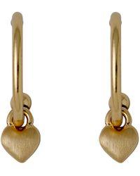 Pilgrim - Sophia Gold Plated Earrings - Lyst