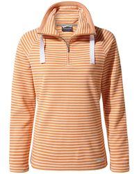 Craghoppers - Orange 'rhonda' Half Zip Fleece - Lyst
