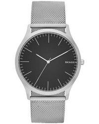 Skagen - Men's Silver Quartz Bracelet Watch - Lyst