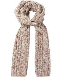 Regatta - Cream 'frosty' Knit Scarf - Lyst