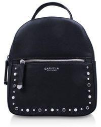 ... Blake Zip Front Backpack - Lyst. Carvela Kurt Geiger - Sooty Mini  Backpack Handbag - Lyst bb81a545e4