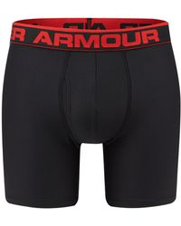 Under Armour - Black Boxer Briefs - Lyst