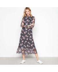 4d991c8ebc067 Boohoo Petite Amy Button Detail Sleeveless Blazer Dress in Black - Lyst