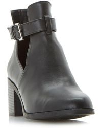 Dune - Black 'paradey' Ankle Boots - Lyst