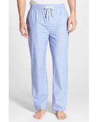 Lacoste Women'S 'Service Line' Stretch Cotton Lounge Pants - Lyst