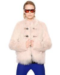 Urbancode Faux Mongolia Fur Jacket - Lyst