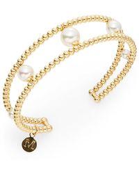Majorica 5mm-10mm Pearl Beaded Bracelet - Lyst