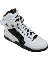 Givenchy Tyson Sneakers Alta Donna Bianco - Lyst