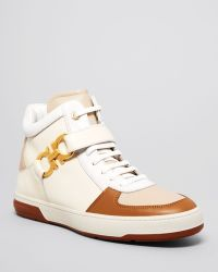 Ferragamo Nayon High Top Sneakers - Lyst