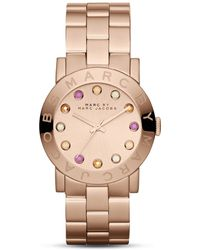 Marc By Marc Jacobs Amy Watch, 36.5mm - Metallic