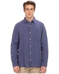 Jack Spade Howard Linen Shirt - Lyst