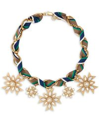 Tory Burch Selma Necklace - Lyst