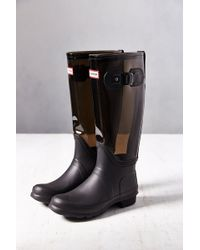 Hunter Original Clear Rain Boot - Lyst