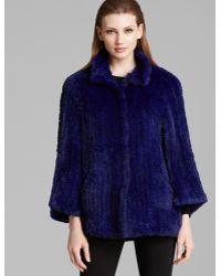 Armani Jacket - Fur - Lyst
