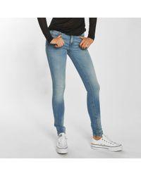 Blend She - Wo Skinny Jeans Bright Azura - Lyst