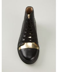 Thakoon Addition - Quilted Hi-top Sneakers - Lyst