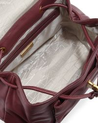 Badgley Mischka | Anne Flap-top Leather Backpack | Lyst