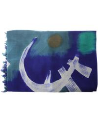 Dianora Salviati - Printed Wool And Cashmere Scarf - Lyst