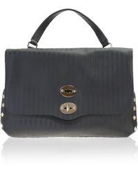 Zanellato | Black Leather Postina Blandine Bag | Lyst