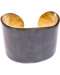 Little Woman Paris - Metal And Resin Bangle - Lyst