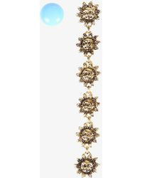 Jacquemus - Les Soleis Brass And Zamac Earrings - Lyst