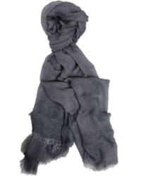 Richiami - Faggio Grey Modal And Cashmere Scarf - Lyst