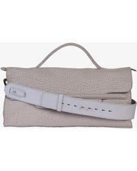 Zanellato - Nina M Desert Leather Bag - Lyst