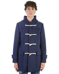 MSGM - Virgin Wool Duffel Coat - Lyst