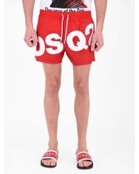 DSquared² - Nylon Swim Shorts - Lyst