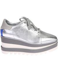 Stella McCartney | Faux Leather Sneakers | Lyst